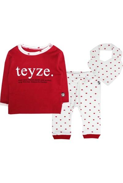 Babycool Kalpli Pijama Takımı-Teyze
