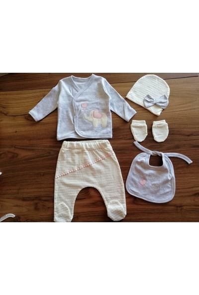 Beyaz Bebek 5'li Filli Zıbın Takım