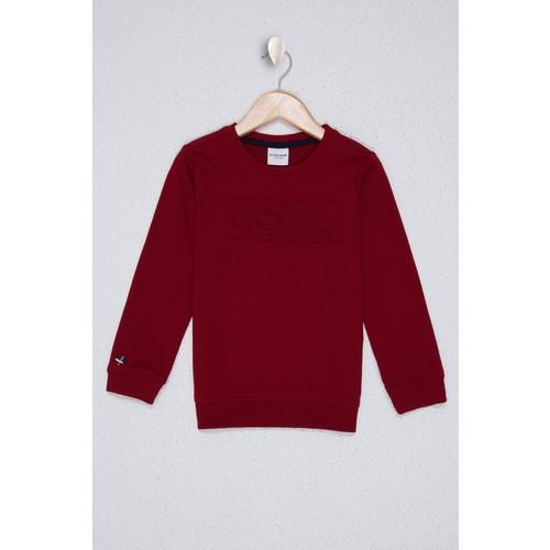 U.S. Polo Assn. Kırmızı Sweatshirt Basic 50225726-VR030