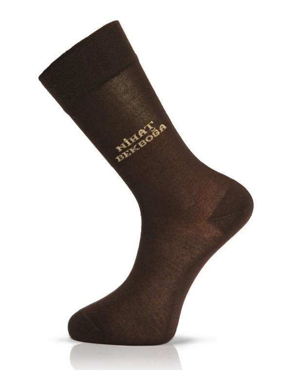 Happybody Ahşap Kutusunda Kişiye Özel Isim Yazılı 6 Lı Pamuk Erkek Çorap