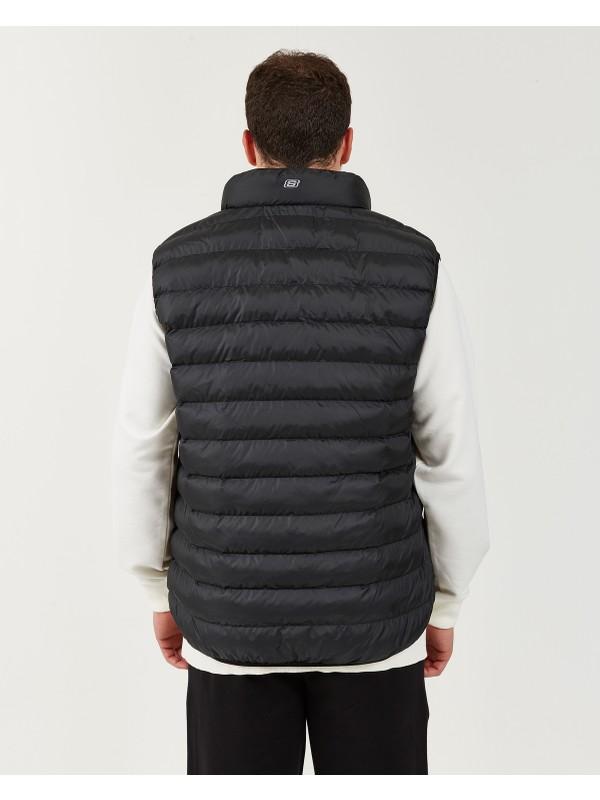 Skechers Outerwear M Basic Lightweight Vest Erkek Siyah Yelek S202174-001