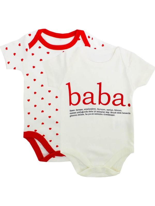 Babycool Baba Puantiyeli 2'li Zıbın Atlet Takım