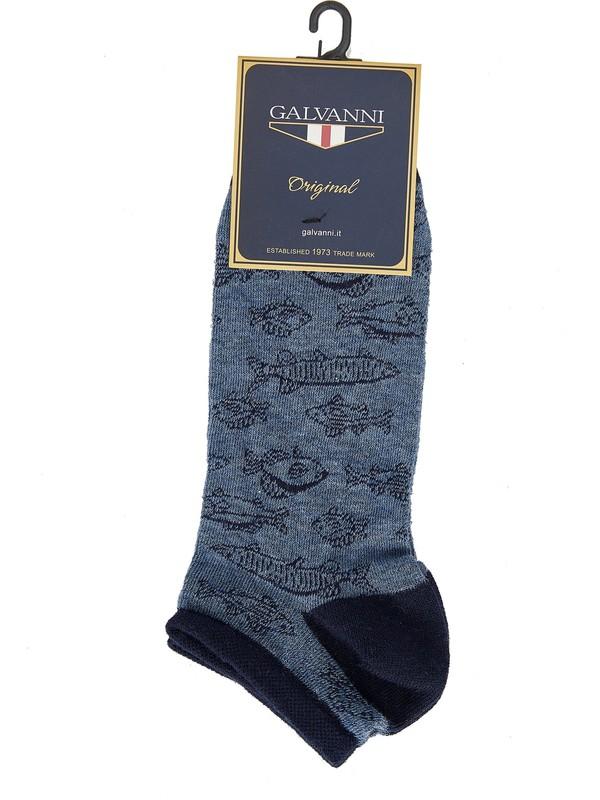 Galvanni Erkek Mavi Çorap