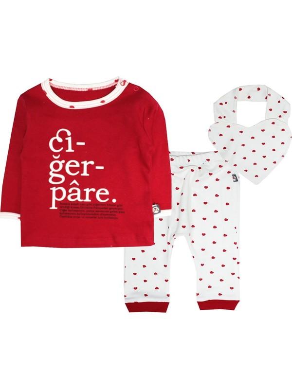 Babycool Kalpli Pijama Takımı-Ciğerpare