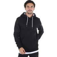 Diandor Slim Fit Erkek Kapüşonlu Sweatshirt Siyah/black 2025114