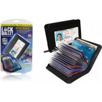 Luna Lock Wallet Güvenlikli Kartlık 36 Kart Kapasiteli