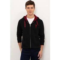 U.S. Polo Assn. Erkek Siyah Sweatshirt 50225491-VR046