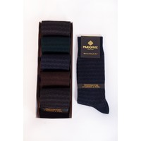 Mudomay 6'lı Bambu Yün Kışlık Erkek Çorap