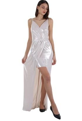 Ayhan Kadın Elbise 61347 Bej/beige 20S1861347