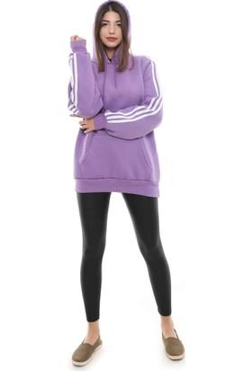 Cazador 7657 Kol Kapşon Şeritli Üçiplik Sweaters Lıla