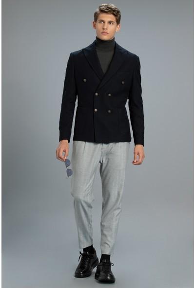 Lufian Dıan Spor Blazer Ceket Slim Fit Lacivert