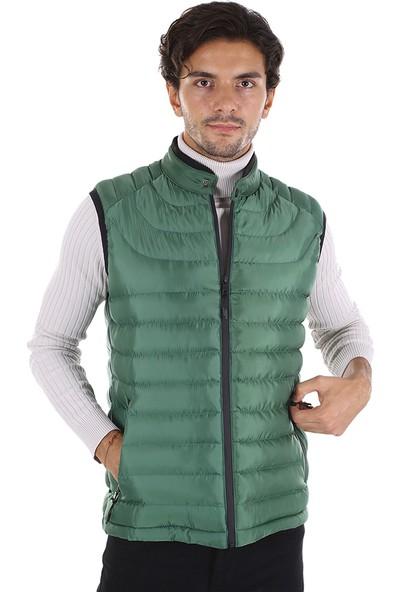 Diandor Erkek Şişme Yelek Yeşil/green 2029121