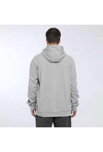 adidas M Bb Hdy Gri Erkek Sweatshirt