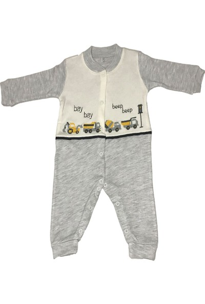 Mini Bird Araba Kaneviçeli Bebek Pijama Takımı