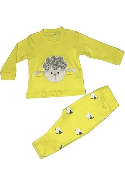 Mini Bird Kuzulu Bebek Pijama Takımı