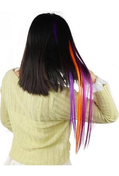 20 Adet Renkli Boncuk Kaynaklık Saç + Takım Aparatları 20