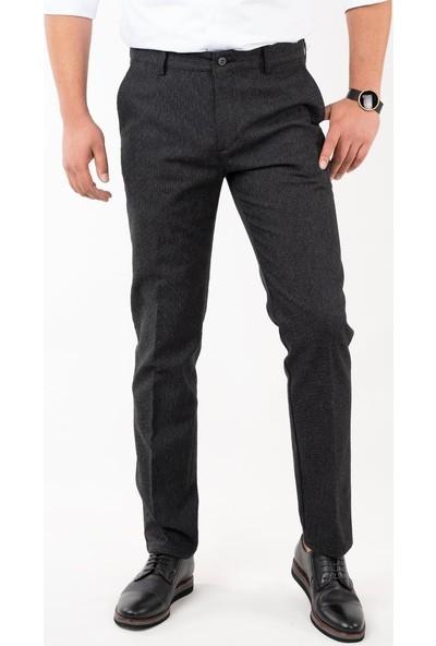 Luccio Regular Fit Kışlık Erkek Gabardin Pantolon