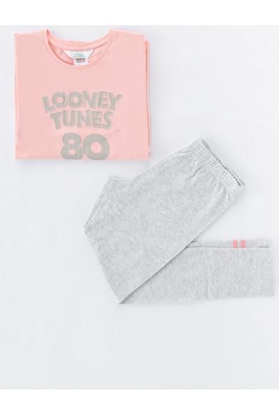 Penti Çok Renkli Teen Looney 2li Pijama Takımı