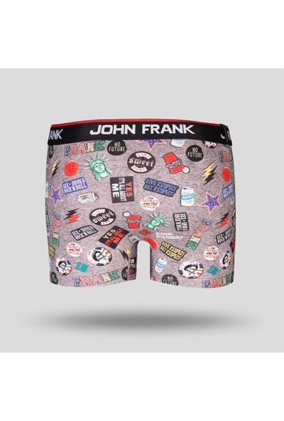 John Frank Erkek Dijital Baskılı Boxer JFBD200-COOL