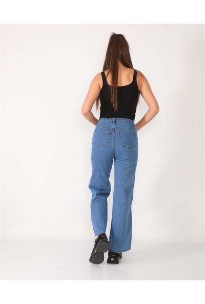Egs Kadın Bol Kot Pantolon 214535