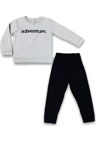 Minigo Adventure Baskı Çocuk Eşofman Takım