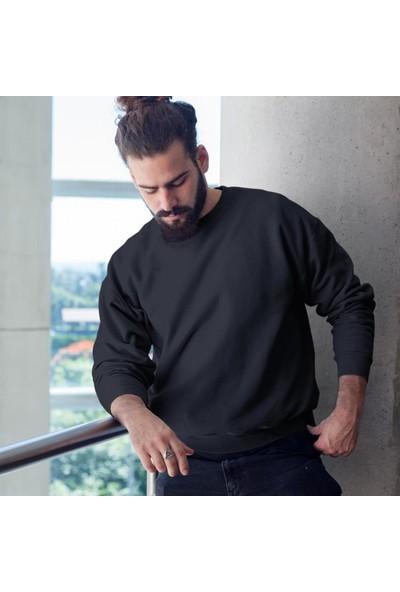 Fandomya Antik Yunan Hephaestus Siyah Sweatshirt
