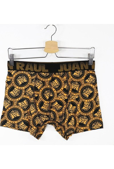 John Frank Juan Raul Dijital Erkek Boxer - Chain