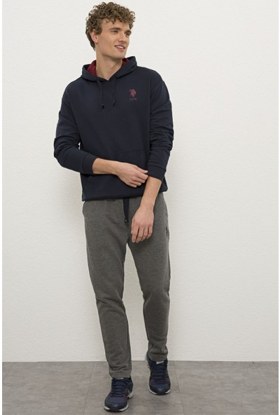 U.S. Polo Assn. Erkek Gri Örme Pantolon 50232020-VR081