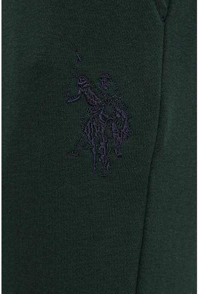 U.S. Polo Assn. Erkek Yeşil Örme Pantolon 50232020-VR079