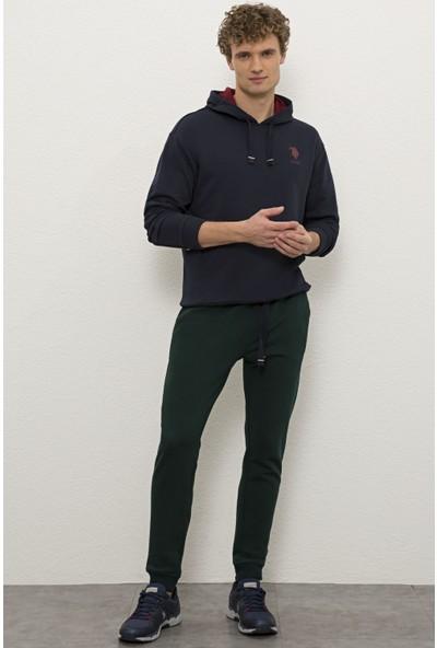 U.S. Polo Assn. Erkek Yeşil Örme Pantolon 50232119-VR079