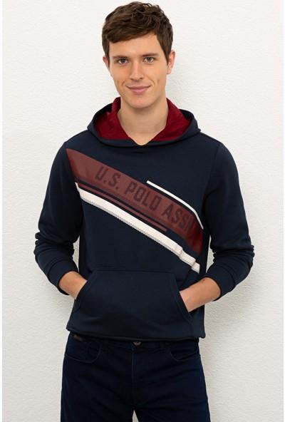U.S. Polo Assn. Erkek Lacivert Sweatshirt 50225394-VR033
