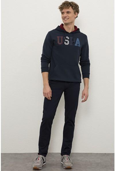 U.S. Polo Assn. Erkek Lacivert Sweatshirt 50225467-VR033