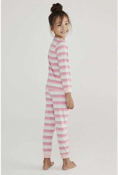 Penti Çok Renkli Kız Çocuk Super Power 4lü Pijama Takımı