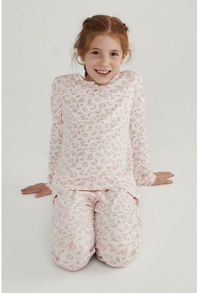 Penti Incı Kız Çocuk Rıb 2'li Pijama Takımı