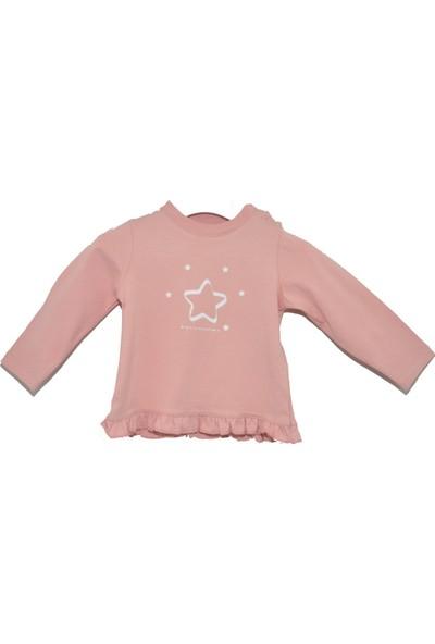 Bellybutton 209-2721 Uzun Kol Kız Bebek T-Shirt
