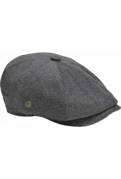 Mercan Toptan Erkek Kaşmir Yün Ingiliz Kasket Şapka - Beckham Peaky Blinder Stili