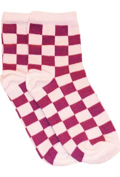 Cat Desenli Kolej Çorap