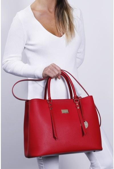 Marie Claire Kırmızı Kadın Omuz Çantası Montel Mc212101169