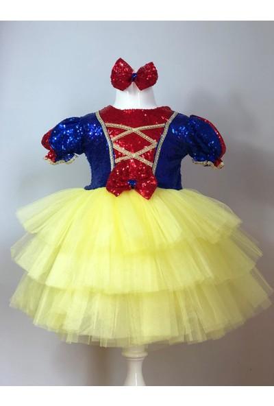 Isobel Pamuk Prenses Kız Çocuk Parti Elbisesi