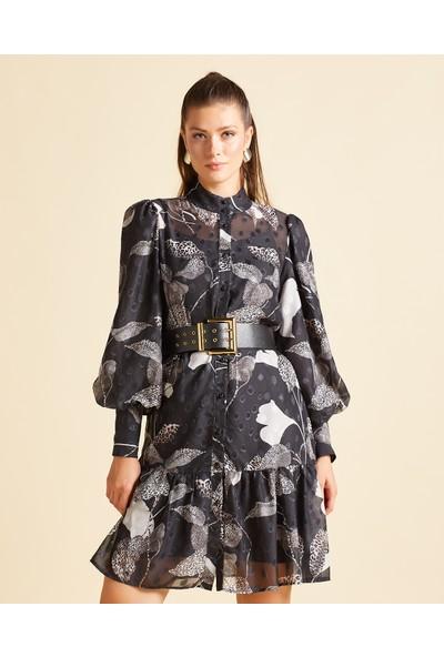 Serpil Desenli Elbise