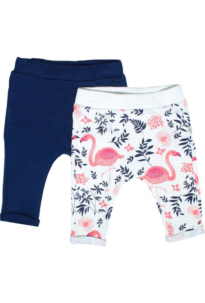 Tongs Baby Flamingo 2'li Bebek Pantolonu 3154 Lacivert 3 - 6 Ay