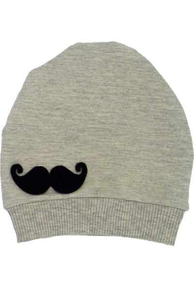 Sebi Bebe Bebek Şapkası 9517 Gri - Siyah 0 - 6 Ay