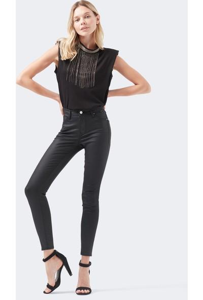 Mavi Kadın Tess Black Golden Icon Jean Pantolon 100328-28323
