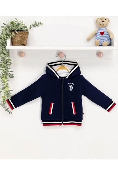 U.s. Polo Assn Lisanslı Bebek Sweatshirt