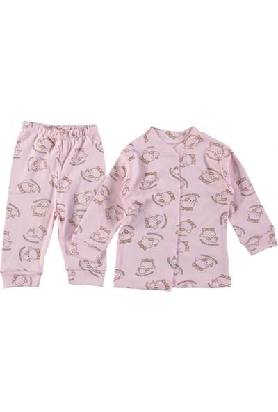 Minik Kalpler Bebek Pijama Takımı Anasının Kuzusu 3 Ay 6 Ay
