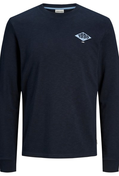 Jack & Jones Core Jcoroad Sweat Erkek Sweat 12167237 Lacivert M