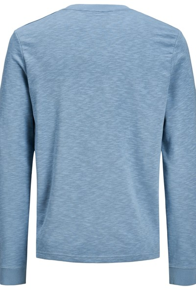 Jack & Jones Core Jcoroad Sweat Erkek Sweat 12167237 Mavi XL
