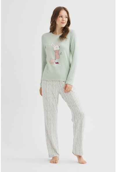Penti Alone Termal Pijama Takımı