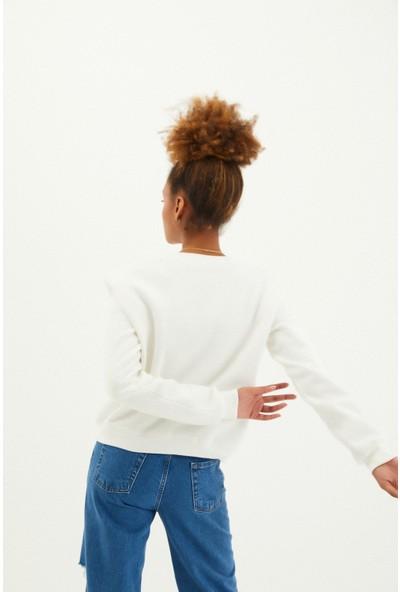 Loukai Vatka Detaylı Sweatshirt
