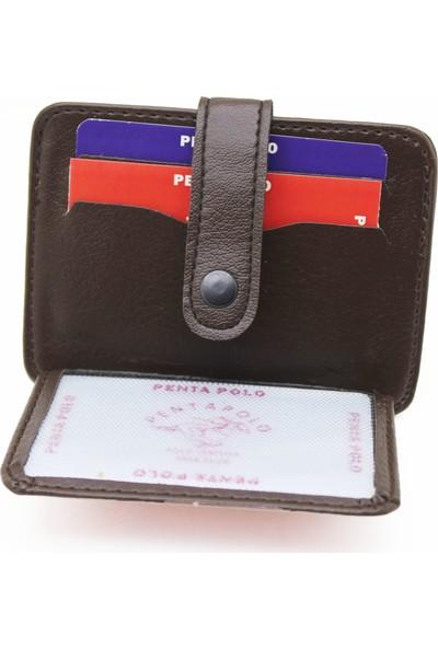 Carlino Üstten Patlı Mini Kartlık Cüzdan Yan Model